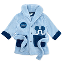 Baby Jungen Bademantel Disney Mickey Mouse blau